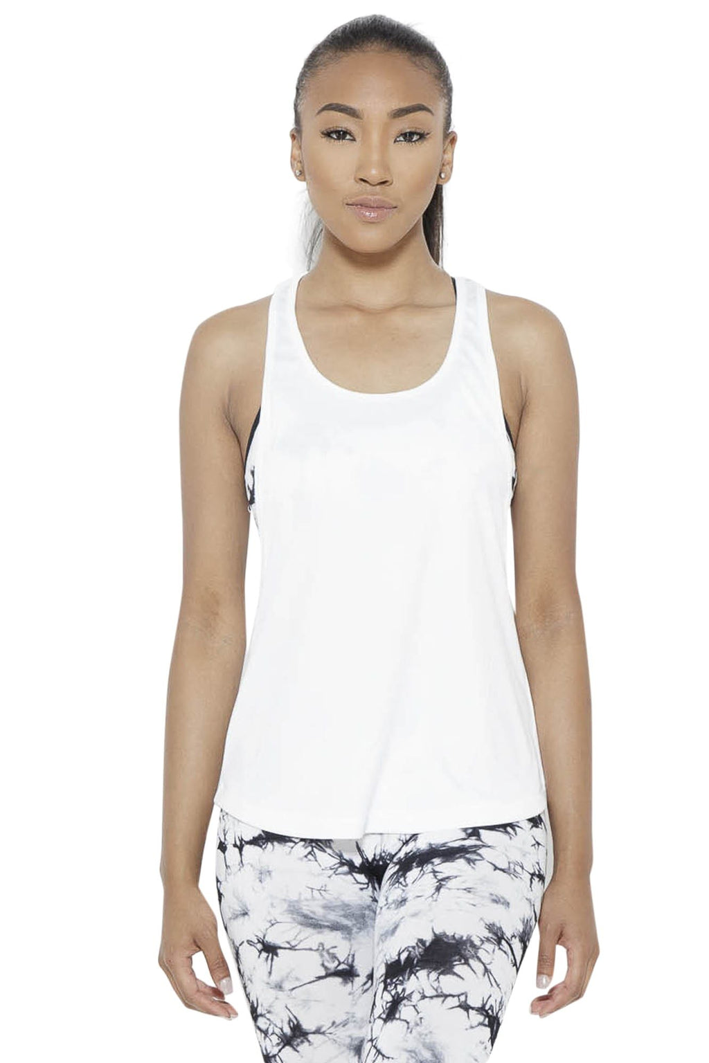 Crater in Arms Tank Top- White Clothing Soffe S White 100% Polyester