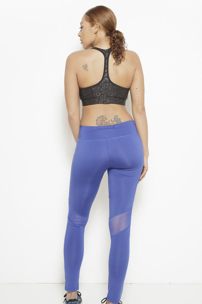 Clothing - Dream In Code Active Leggings- Royal Blue - Fair Shade - 3