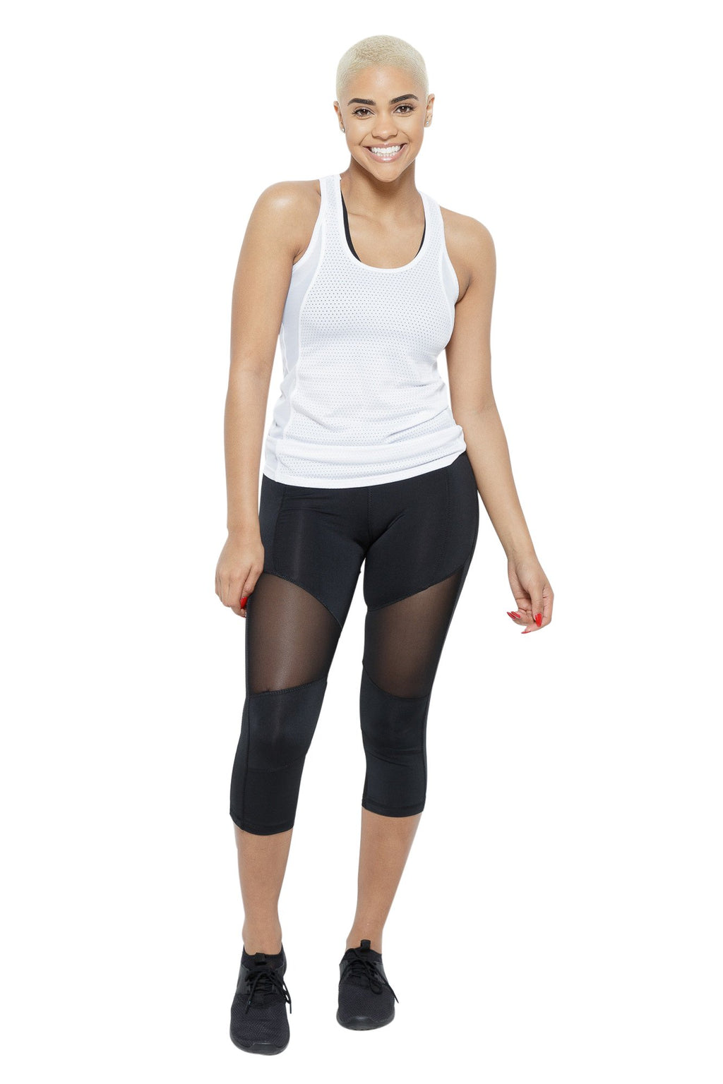 Slaythm Performance Capris Clothing Fair Shade S Black 87% Polyester, 13% Spandex
