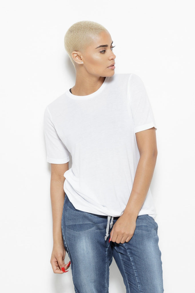 Clothing - Jenine Slipping White Top - Fair Shade - 1