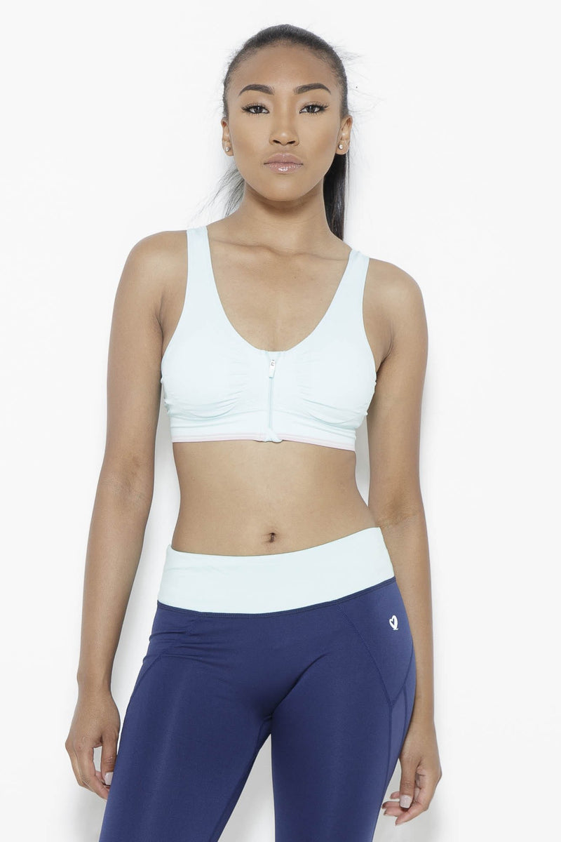 Mint for Me Sports Bra Clothing Fair Shade S Mint 92% Nylon 8% Spandex