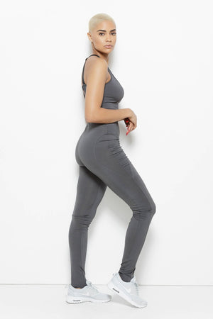 MSFIT Jumpsuit- Charcoal Clothing Fair Shade
