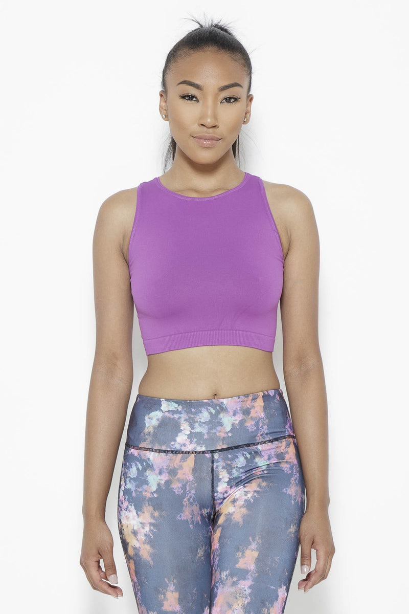 Serenity Crop Top-Sparkling Grape Clothing Fair Shade SM Sparkling Grape Sorbtek
