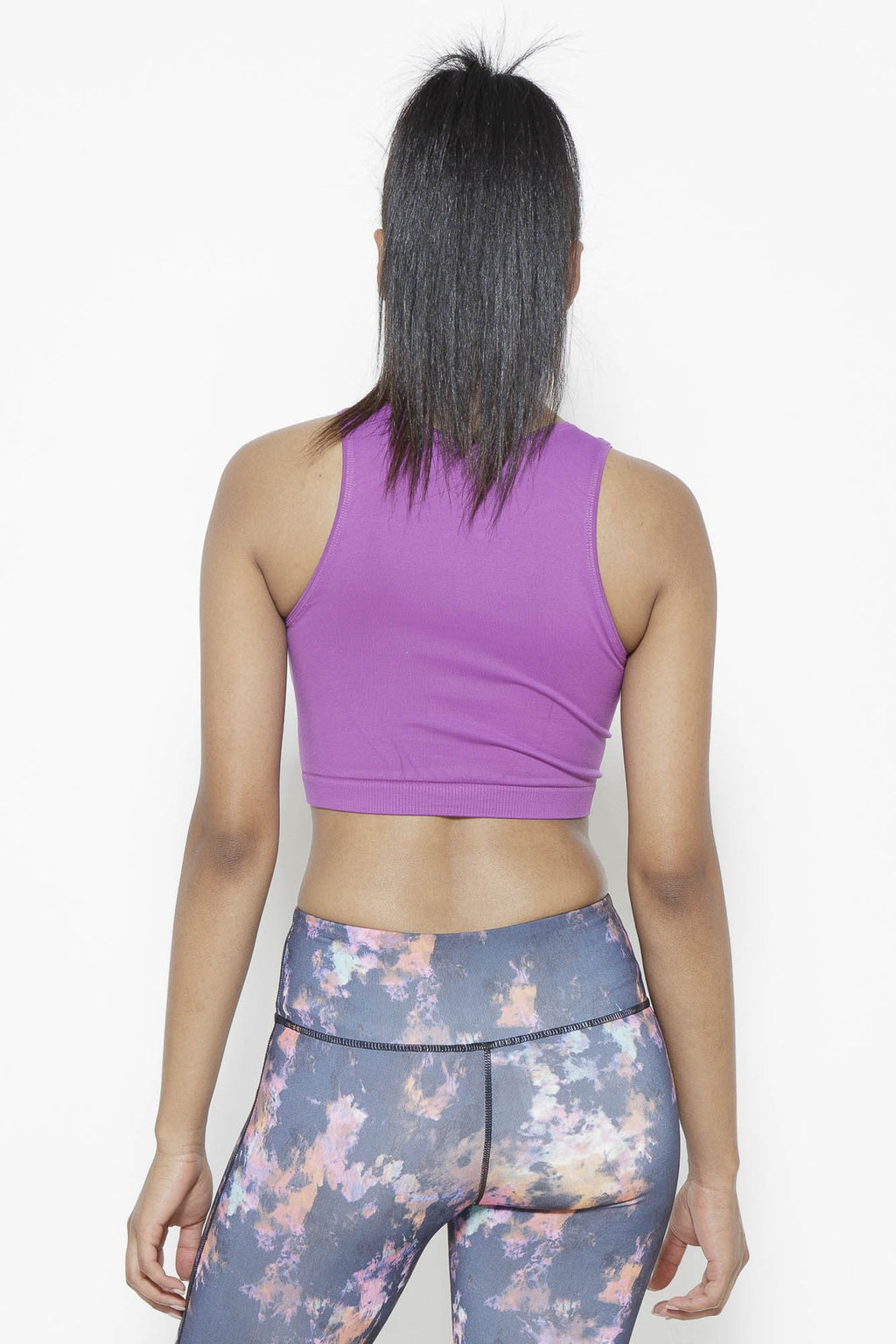 Serenity Crop Top-Sparkling Grape Clothing Fair Shade