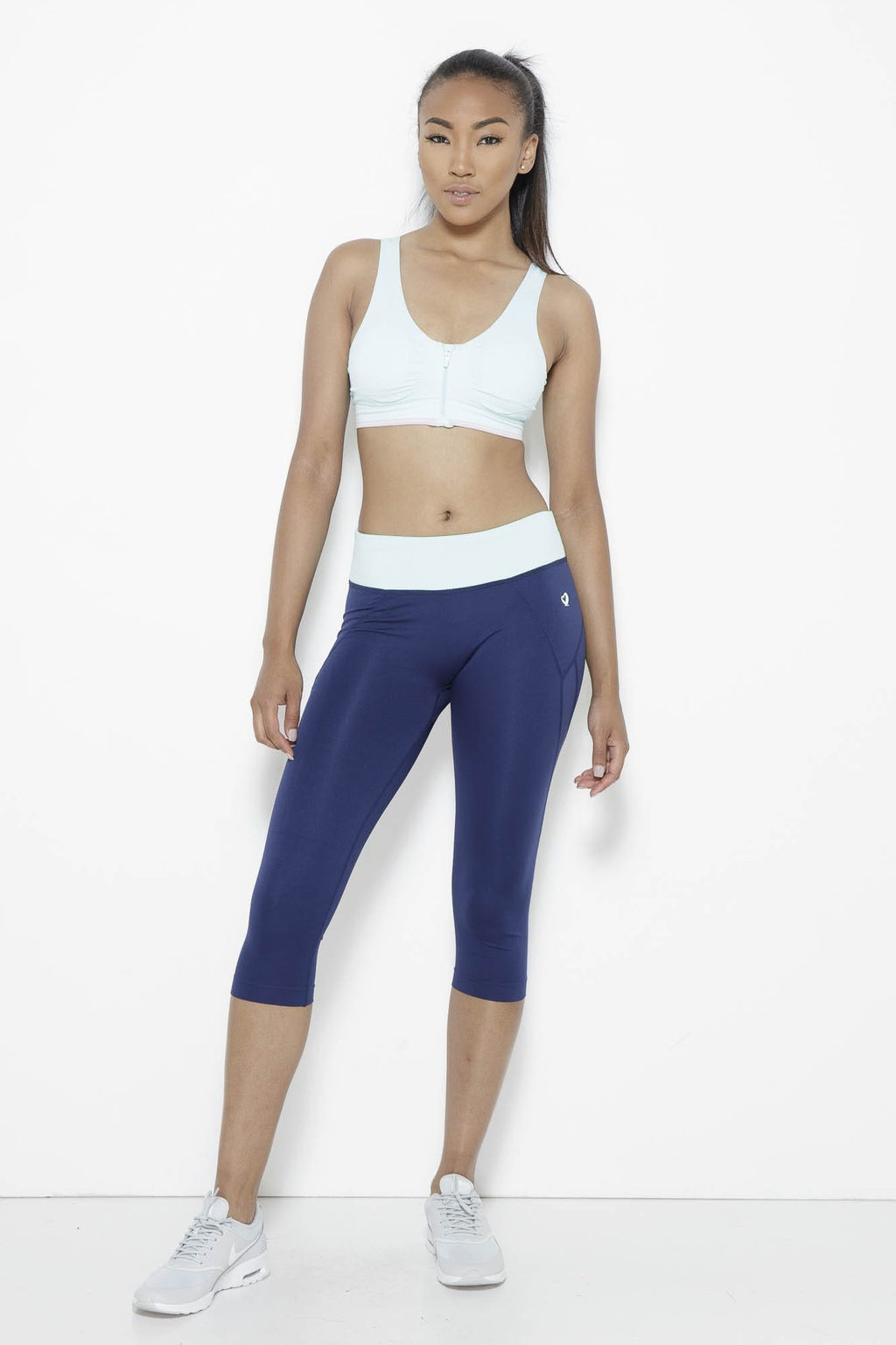 fair-shade - Shear Sighted Capris- Navy/Mint - Clothing