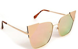 Tia Sunglasses Accessories Fair Shade Gold-Blush