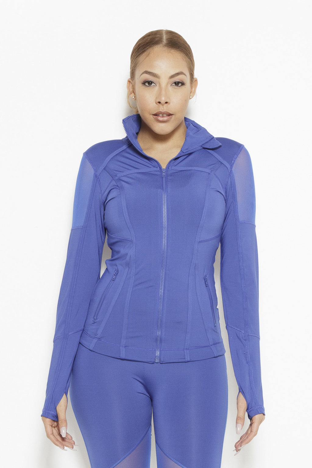 fair-shade - Vibes of Color Sports Jacket- Royal Blue - Clothing
