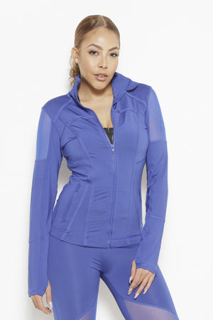Vibes of Color Sports Jacket- Royal Blue Clothing Fair Shade