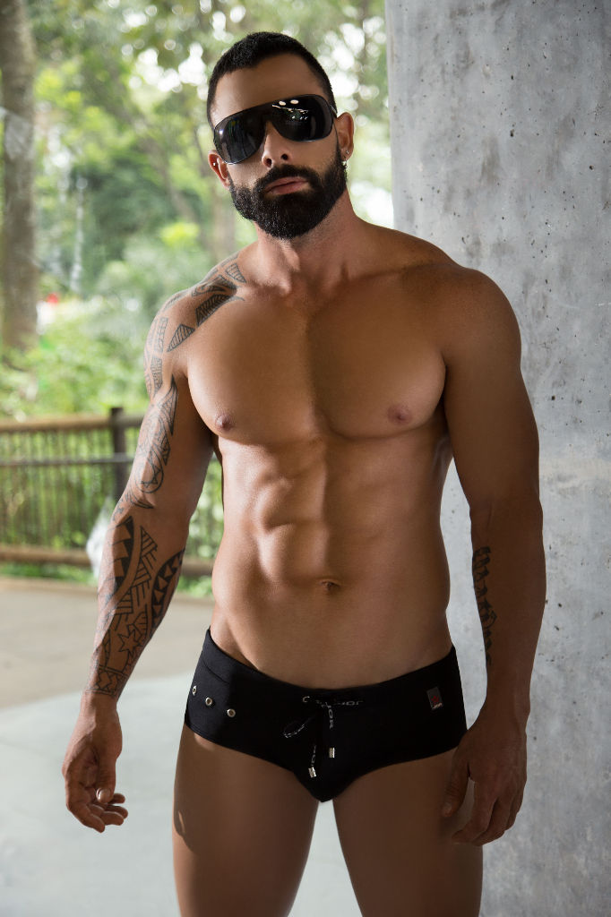 JOR 0288 Hot Swim Briefs Color Black