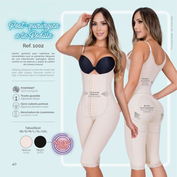 Moldeate 1002 Body Shaper Color Nude