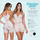 Moldeate 1013 Body Shaper Color Black
