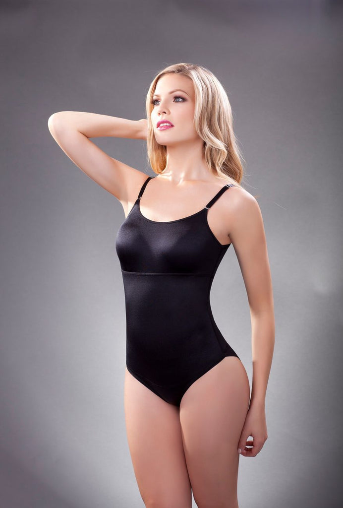 Vedette 105 Lea Bodysuit in Bikini Color Black