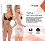 Moldeate MD-12004 Push UP and Tummy control Shapewear-Brown-XL