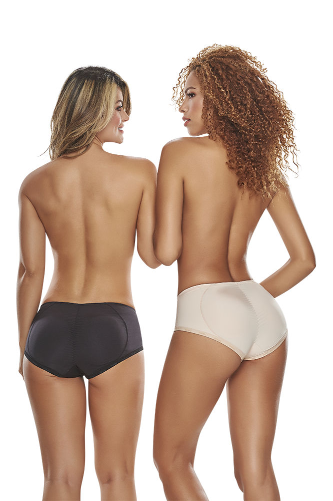 TrueShapers 1211 Butt Lifter Padded Panty Color Beige