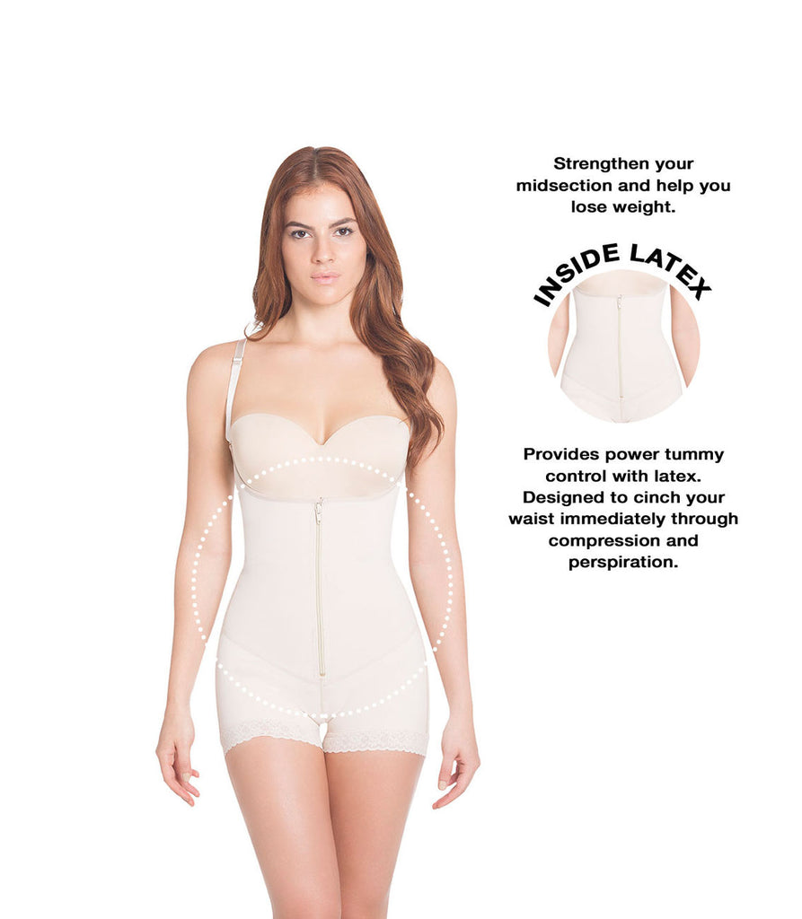 Siluet 1320 Extra-Strength Compression with latex Color Nude