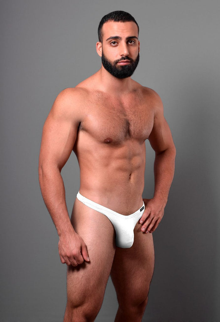 Doreanse 1392-WHT Euro Thong Color White