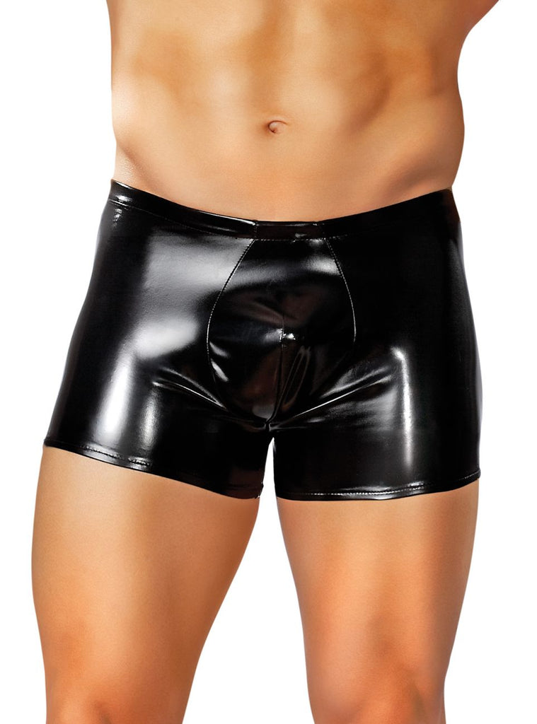 Male Power 153003 Liquid Onyx Pouch Boxer Briefs Color Black