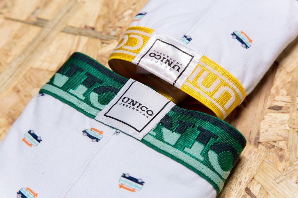 Unico 1902010011400 Trunks Fusion Color White
