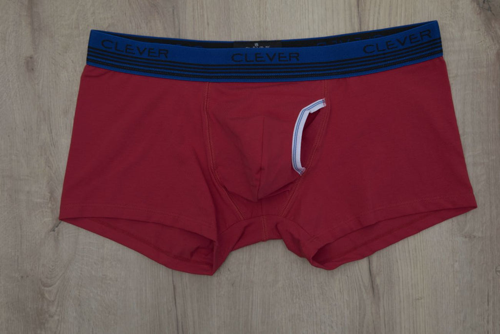 Clever 2410 Julio Latin Boxer Briefs Color Red