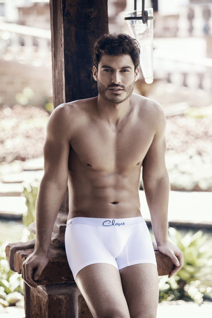 Clever 2420 Neron Boxer Briefs Color White