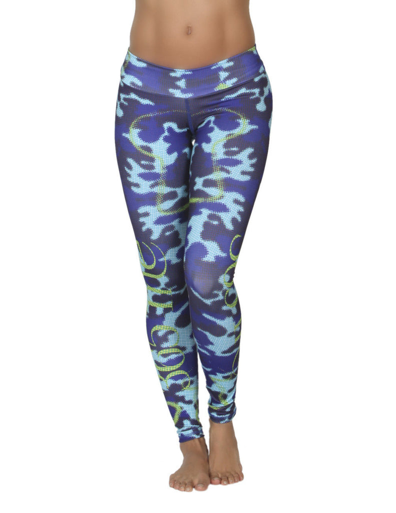 365me 1006 Sports Leggings Color Turquoise