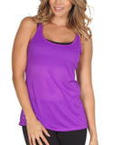 365me 1008 Sports Tank Top Color Purple