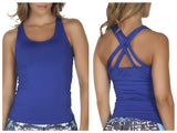 365me 1010 Sports Tank Top Color Blue