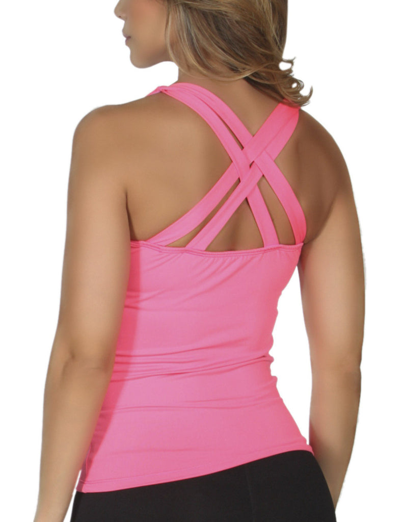 365me 1010 Sports Tank Top Color Pink