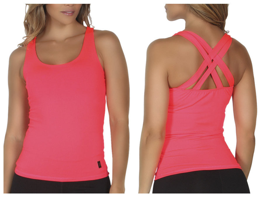 365me 1010 Sports Tank Top Color Red