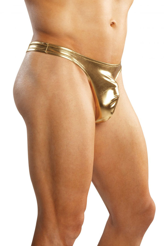 Male Power 442070 Heavy Metal Bong Thong Color Gold