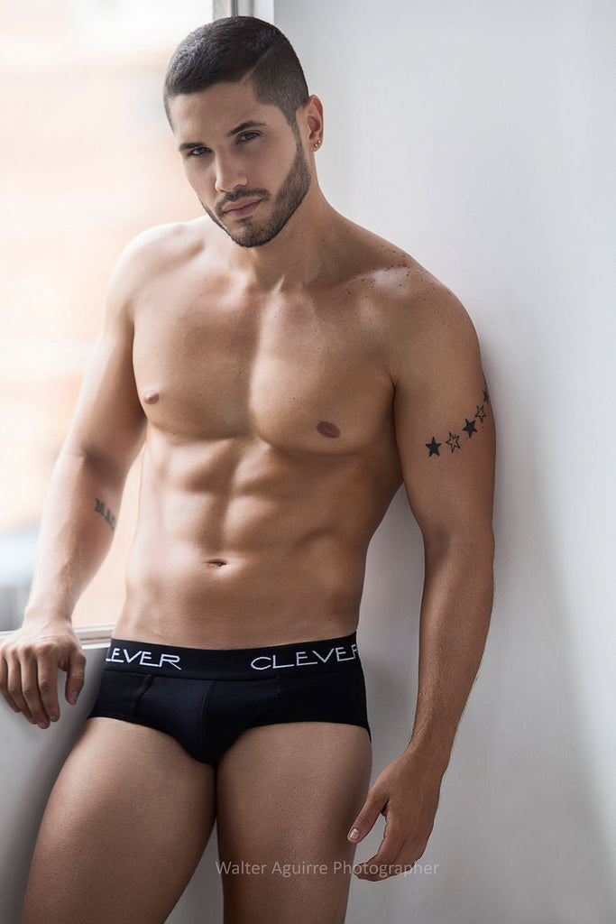 Clever 5219 Classic Brief Color Black