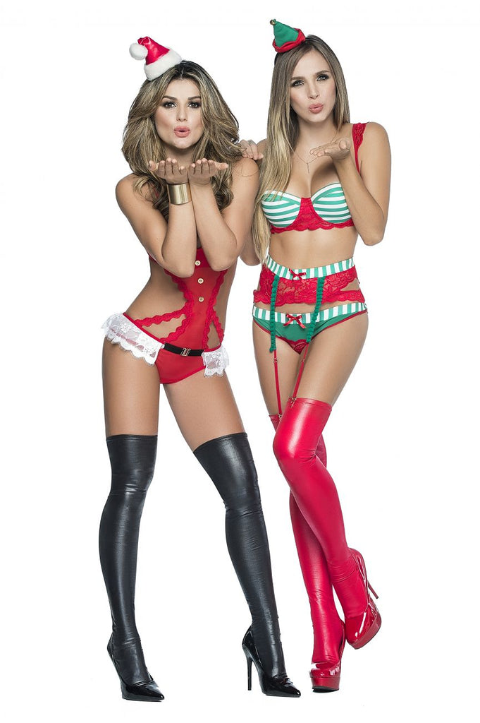 Mapale 6330 Santa Elf Costume Color Multi-colored