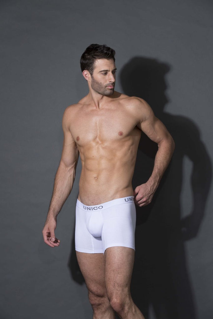 Unico 9610080100 Boxer Briefs Cristalino Color White