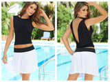 AM PM 5706 Skirt Color White