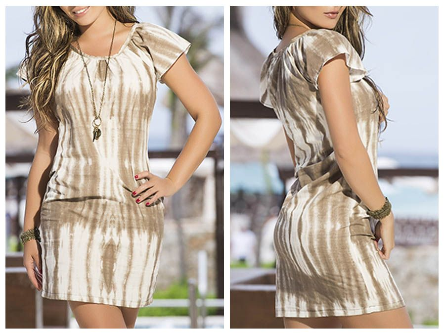 AM PM 4914 Dress Color Mocha