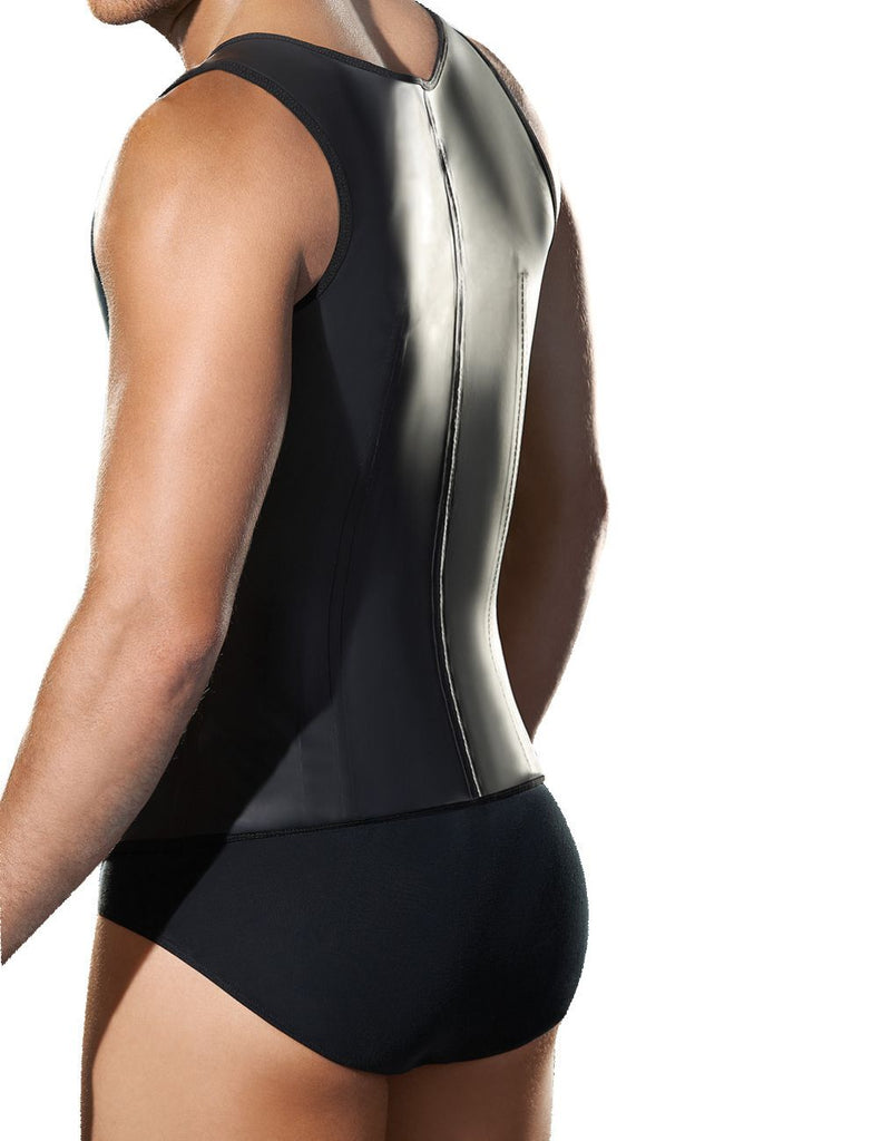 Ann Chery 2033 Latex Men Girdle Body Shaper Color Black