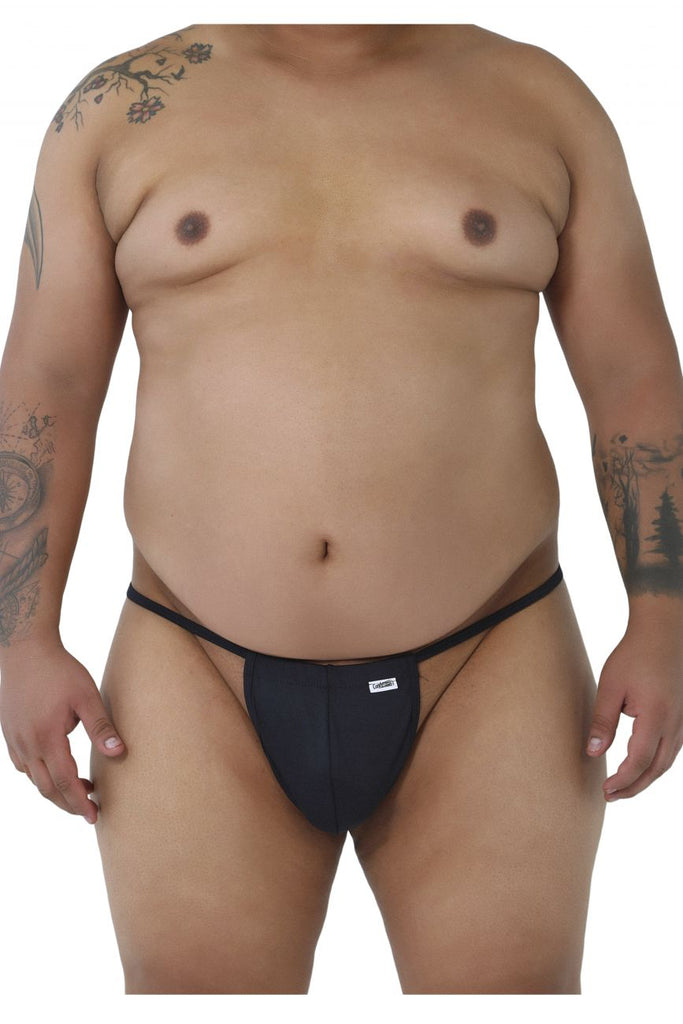 CandyMan 9586X Thongs Color Black