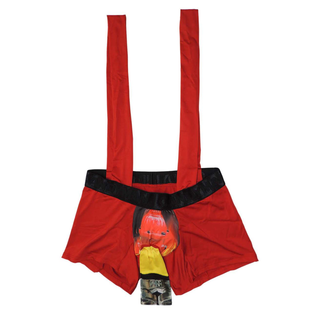 CandyMan 9676 Firefighter Outfit Color Red