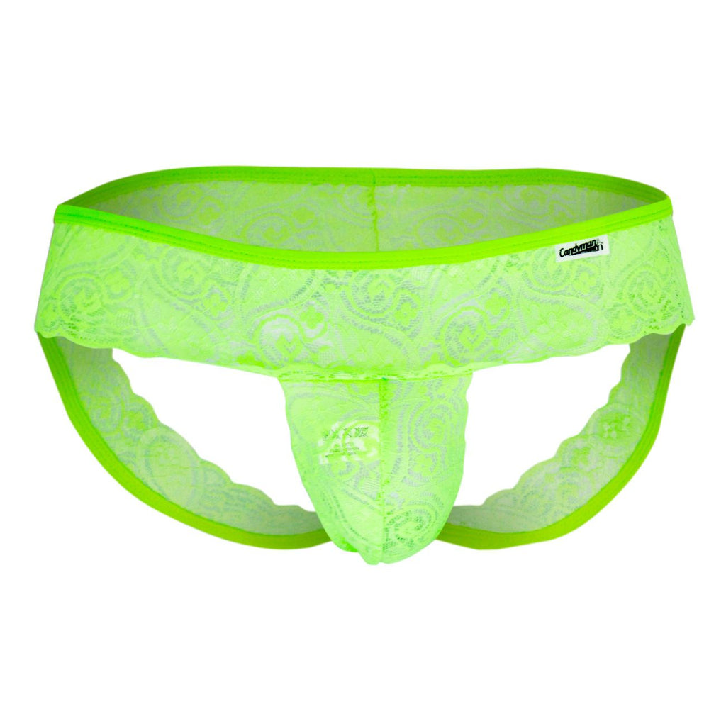 CandyMan 99058 Jockstrap Color Green