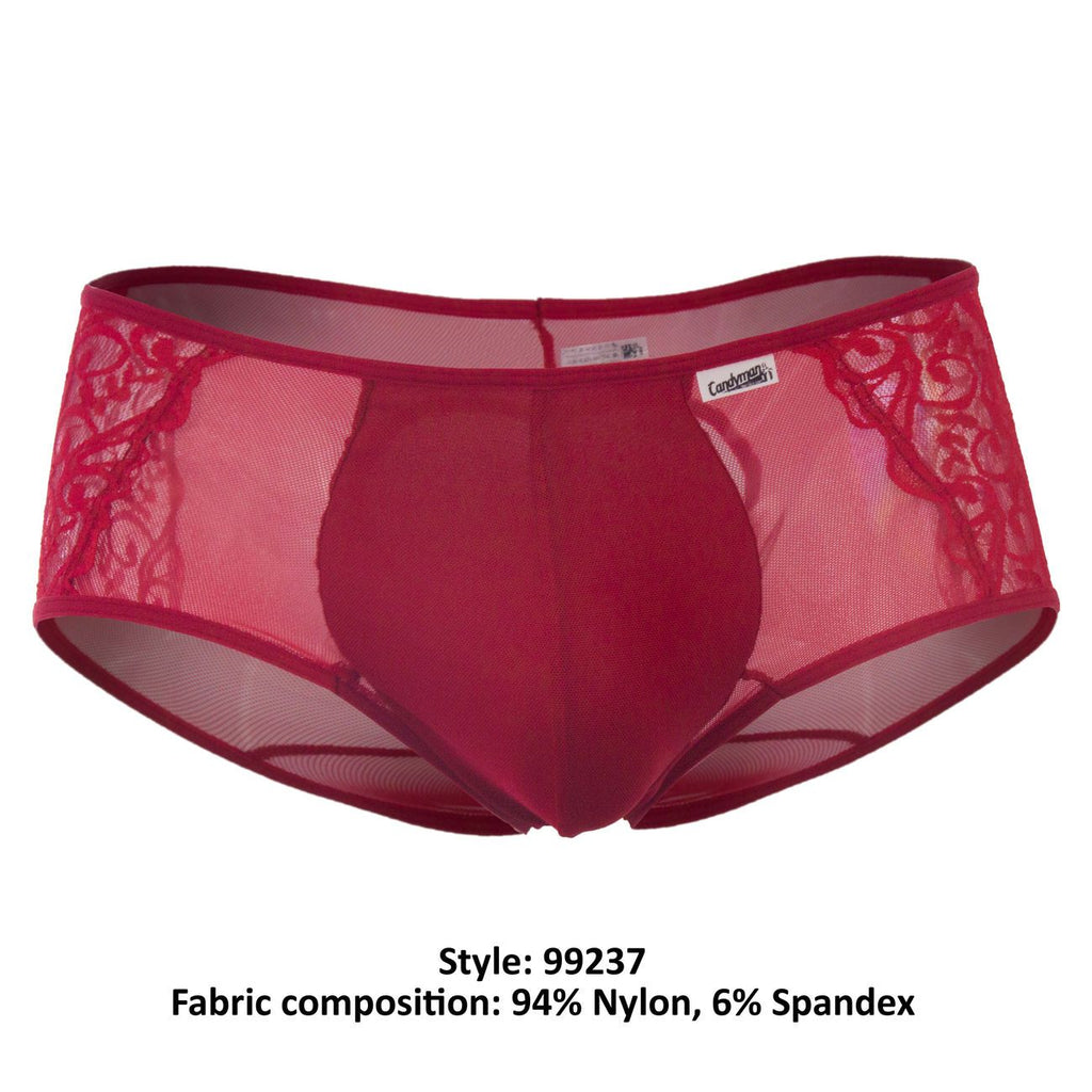 CandyMan 99237 Boxer Briefs Color Red