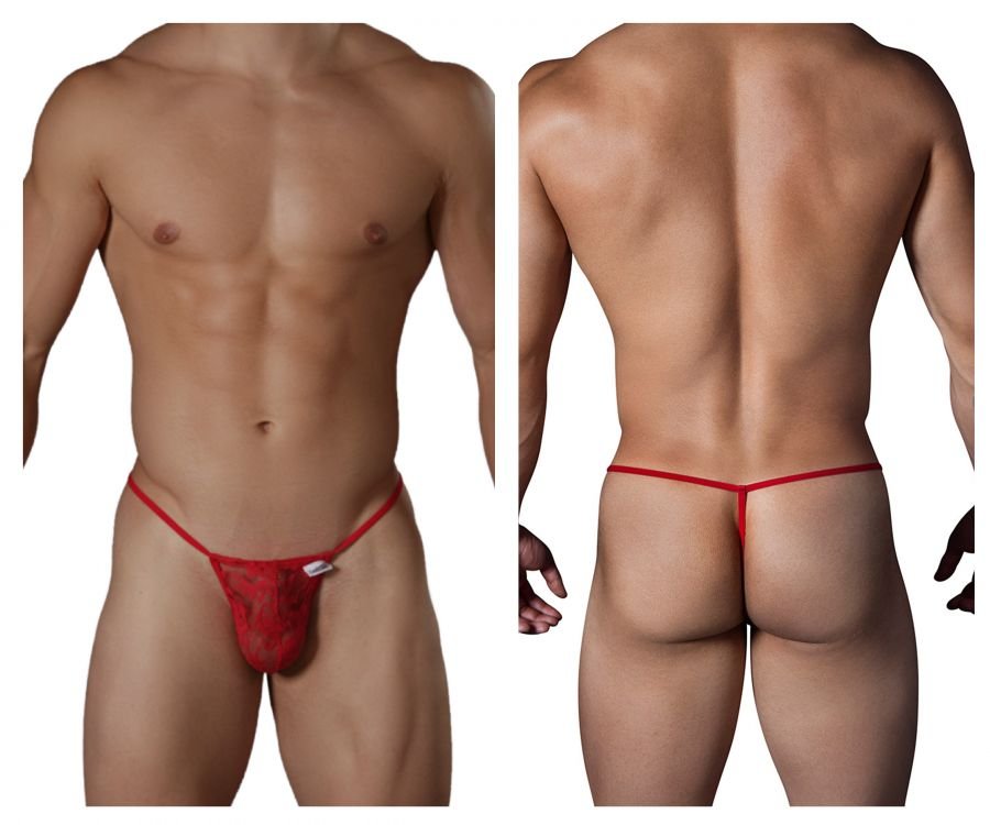 CandyMan 99247 Thongs Color Red