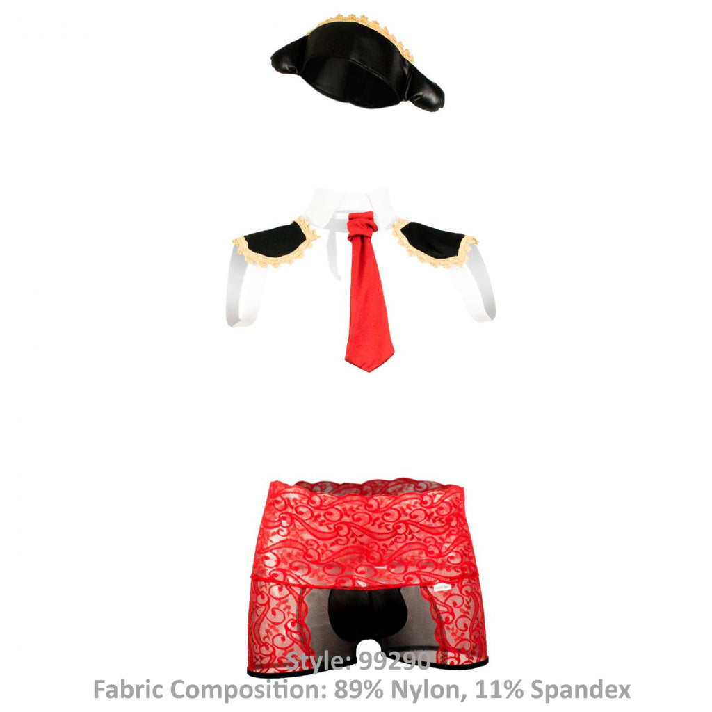 CandyMan 99290 Bullfighter Costume Outfit Color Multi-colored