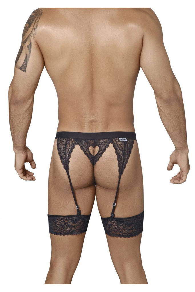 99314 Garter Thongs Color Black