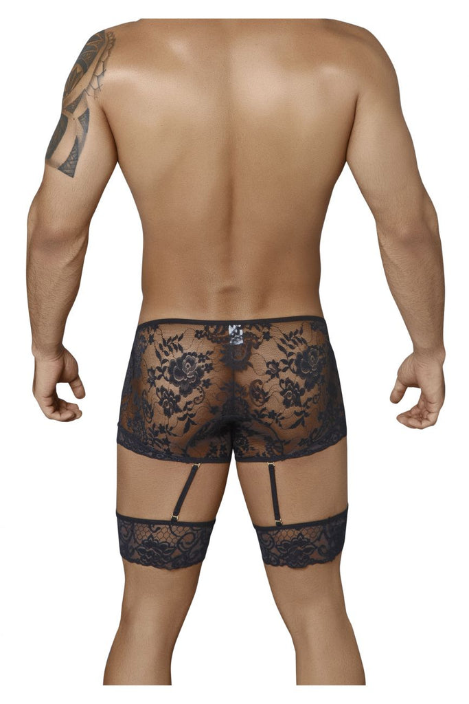 99317 Garter Boxer Briefs Color Black