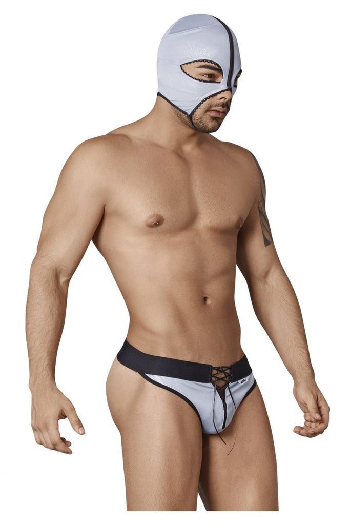 CandyMan 99351 Wrestler Costume Outfit Color Gray
