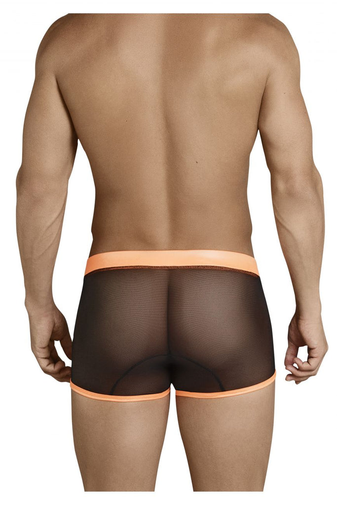 CandyMan 99360 Boxer Briefs Color Black-Orange