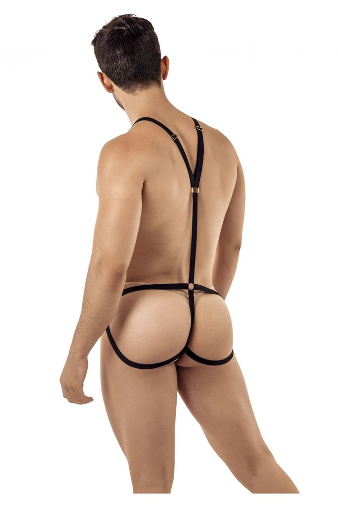 CandyMan 99396 Harness Bodysuit Color Black