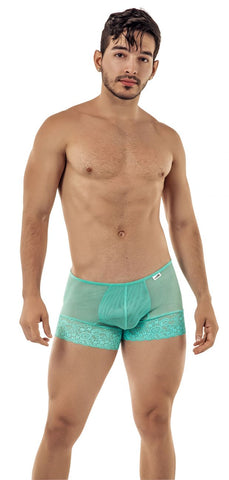 CandyMan 99420 Double Lace Thongs Color Gray