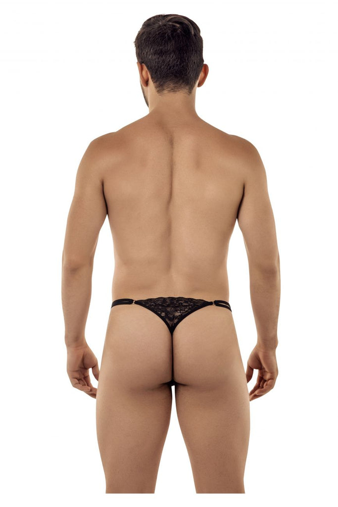 CandyMan 99421 Lace G-String Thongs Color Black