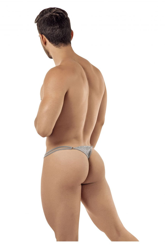CandyMan 99421 Lace G-String Thongs Color Gray
